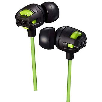 JVC HAFX103MG Xtreme Xplosives In Ear Earphone with Mic & Remote - Green