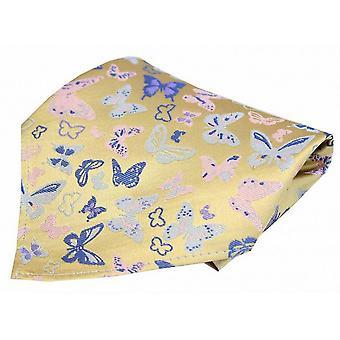 Posh und Dandy Schmetterlinge Tasche Square - gelb