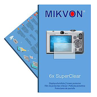 Canon PowerShot SD1200 IS screen protector- Mikvon films SuperClear