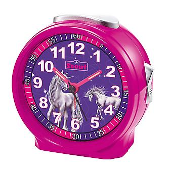 Scout girls alarm clock alarm girl of friends pink Unicorn 280001070