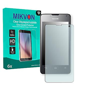 Huawei Ascend Y300 Screen Protector - Mikvon Clear (Retail Package with accessories)