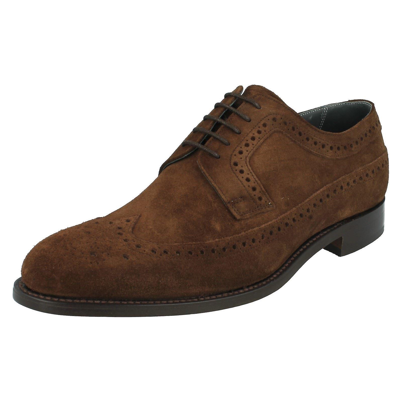 chaussures de mens Barker Suede formelle Brogue Woodbridge