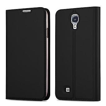 Cadorabo Hülle für Samsung Galaxy S4 Case Cover - Handyhülle mit Magnetverschluss, Standfunktion und Kartenfach – Case Cover Schutzhülle Etui Tasche Book Klapp Style