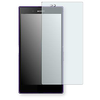 Sony Xperia Z ultra LTE display protector - Golebo crystal clear protection film