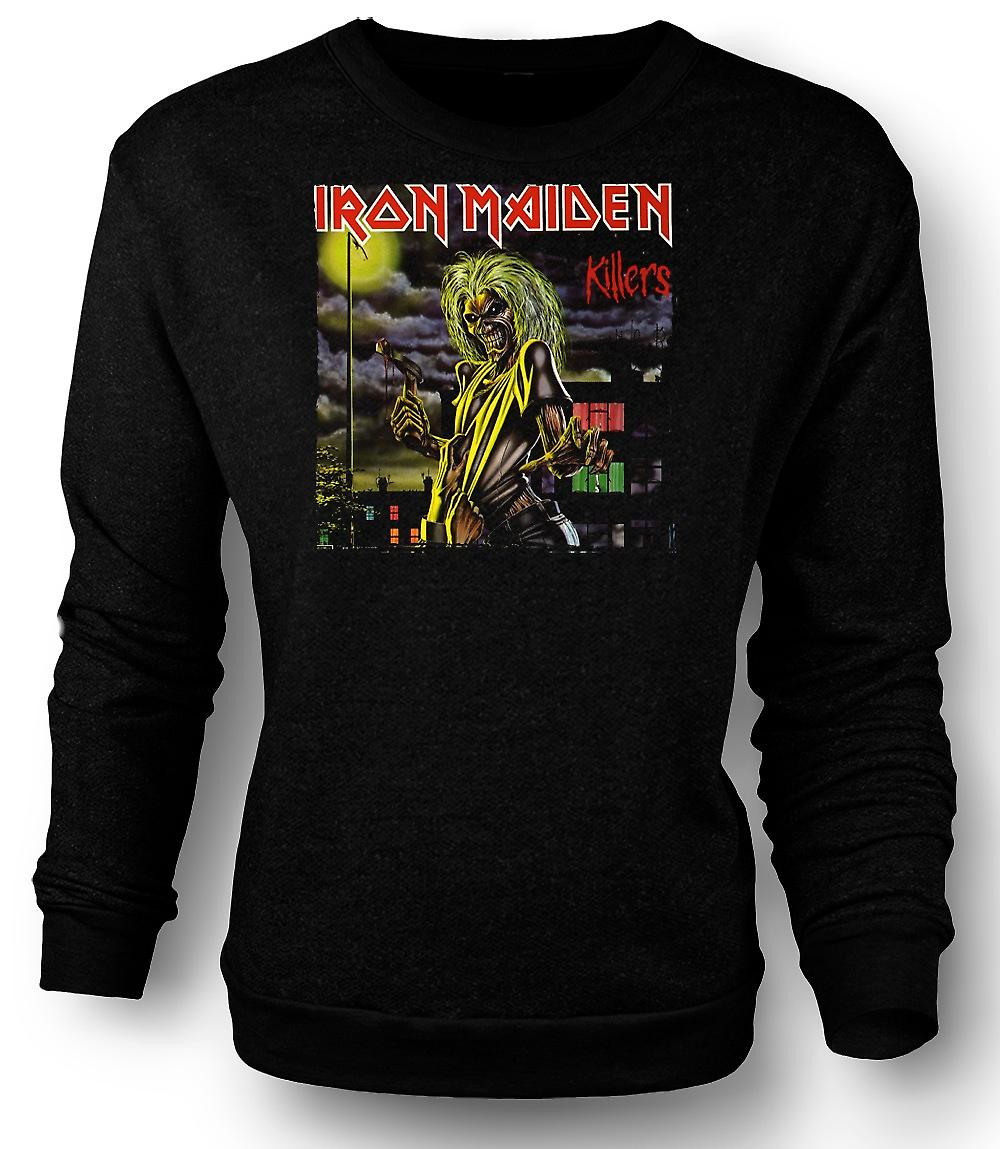 Mens Sweatshirt Iron Maiden - Killers albumgrafikk