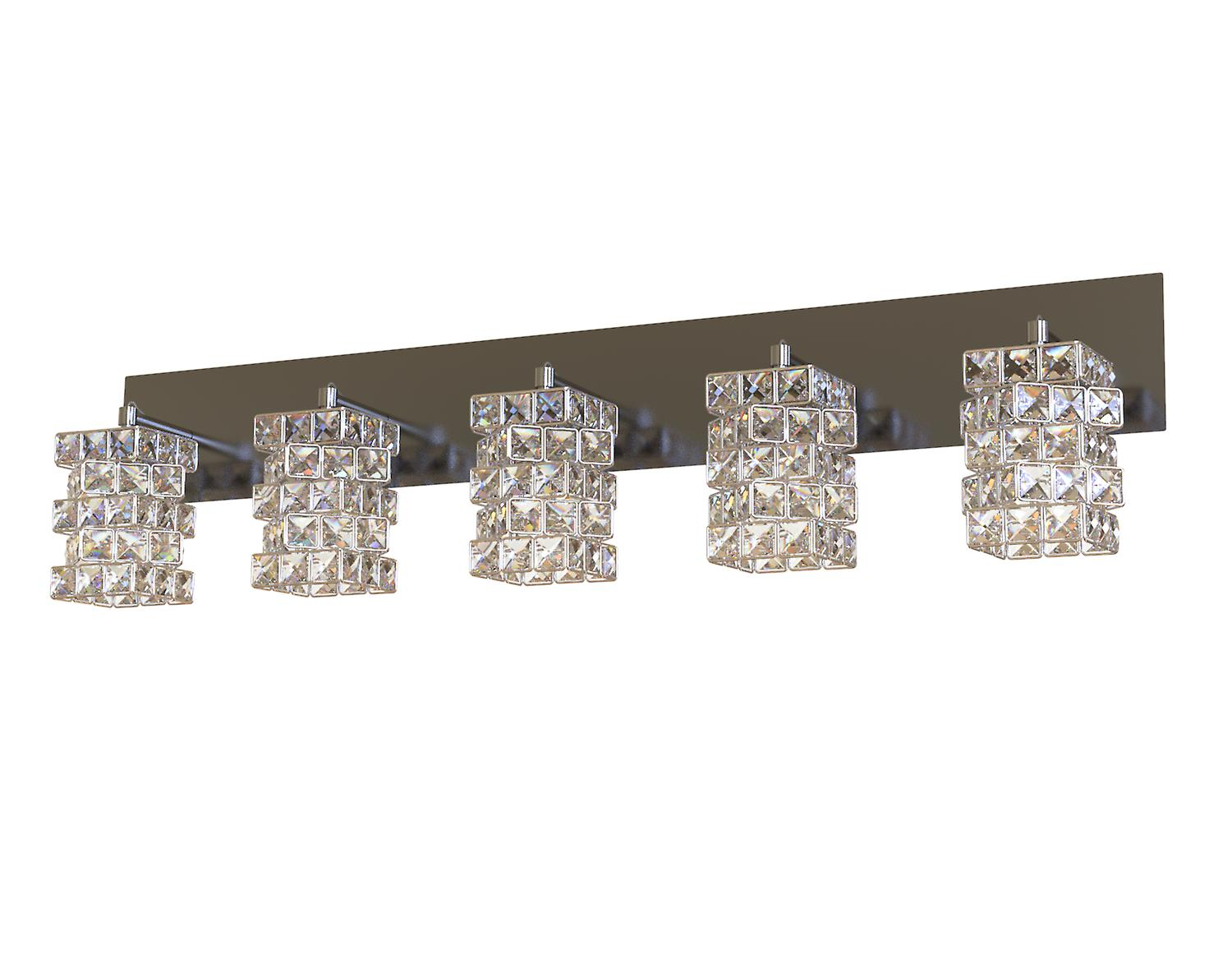 Modern Chrome Bead LED Light Fixture Wall Mount Sconce Pendant Lamp Hallway New