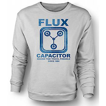 Mens Sweatshirt Flux Capacitor - Making Time Travel Possible