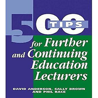 500 Tipps für Weiterbildung und weitere Ausbildung Dozenten