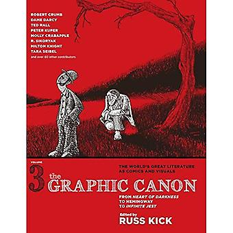 The Graphic Canon, Volume 3: From Heart of Darkness to Hemingway to Infinite Jest (Turtleback School & Library Binding Edition)