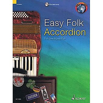 Easy Folk Accordion: 29 Pieces
