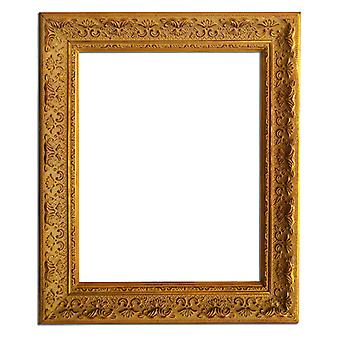 26x32 cm or 10x12 inches, photo frame in gold