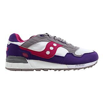 Saucony Shadow 5000 White/Purple S60033-66 Women's