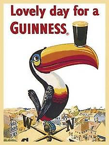 Guinness ''Weather Vane'' steel fridge magnet