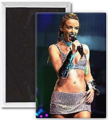 Kylie Minogue at Glasgow fridge magnet    (se)