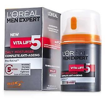 L'Oreal menn ekspert Vita løfte 5 daglig fuktighetskrem - 50ml / 1. 7 oz