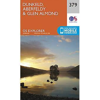 Dunkeld - Aberfeldy and Glen Almond (September 2015 ed) by Ordnance S