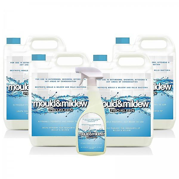20 Litre Household Mould Killer And Remover Spray Package