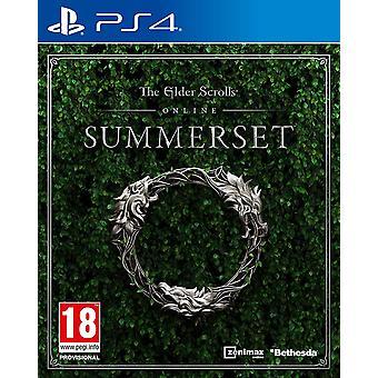 Elder Scrolls Online Summerset PS4 Game