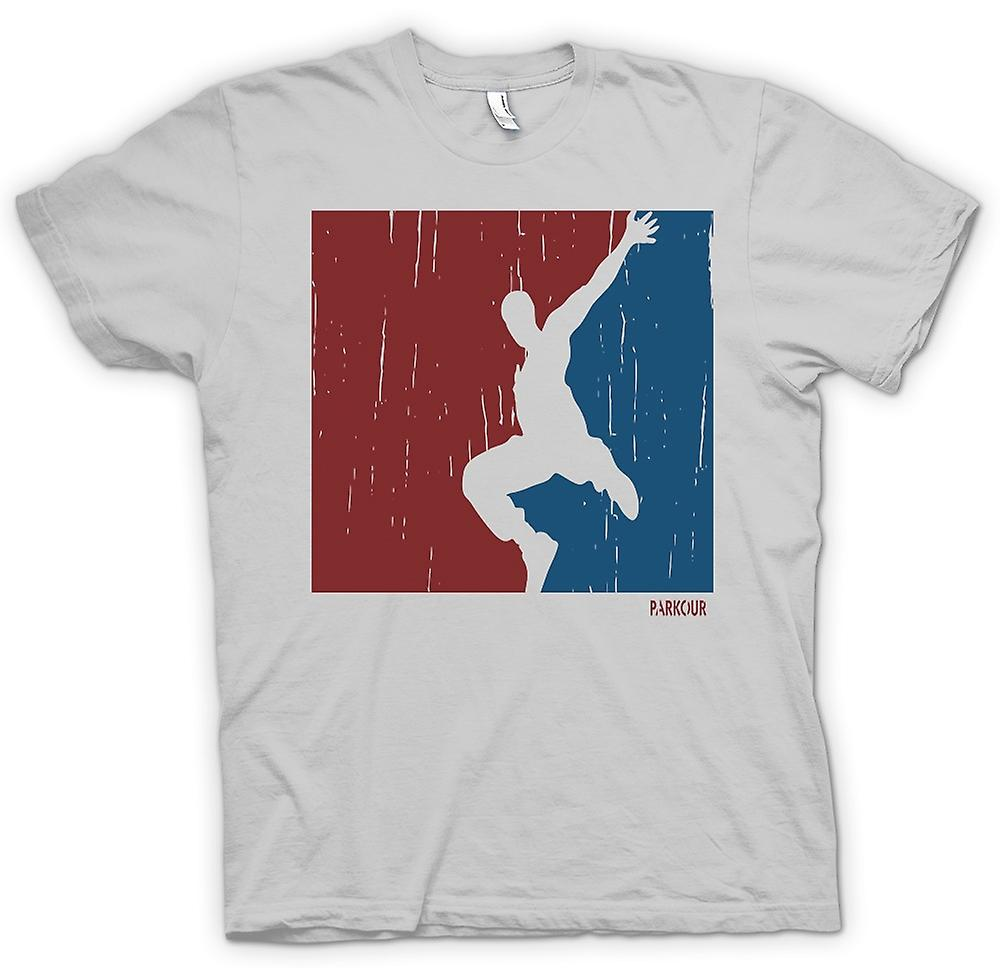 Mens T-shirt - Parkour - Freilauf - Cool