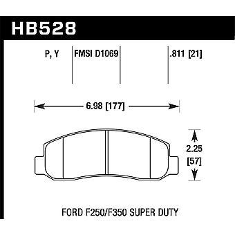 Hawk Performance HB528Y.811 LTS