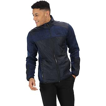 Regatta Herre Zavid quiltet vandafvisende fleece jakke
