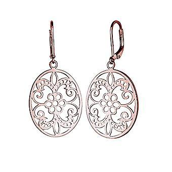 Elli Pendulum Earrings and Silver Woman Drop - 301162715