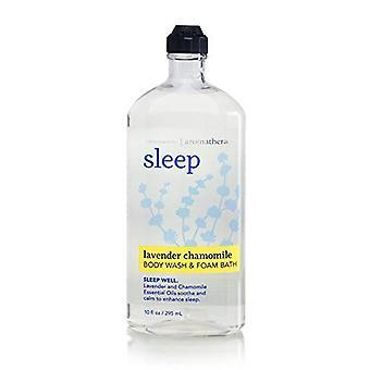 Bath & Body Works Aromatherapy Sleep Lavender Chamomile Body Wash & Foam Bath 10 fl oz / 295 ml