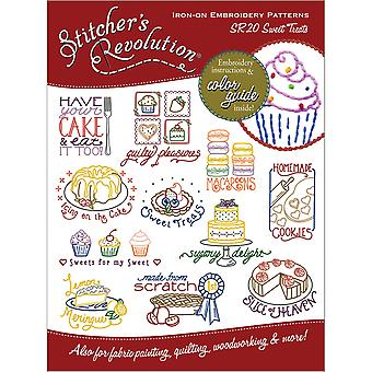 Stitcher's Revolution Iron On Transfers Sweet Treats Sr 20
