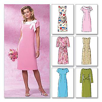Misses' Misses' Petite Dress  Bb 8  10  12  14 Pattern B4386  Bb0