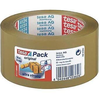 Packaging tape tesa tesapack® Ultra Strong Brown (L x W) 66 m x