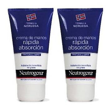 Neutrogena Hands Cream Fast Absorption Duplo