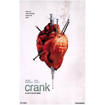 Crank - German - style A Movie Poster (11 x 17)