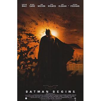 Batman Begins film plakat (11 x 17)