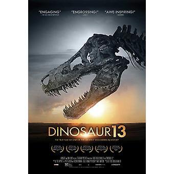 Affiche du film dinosaure 13 (11 x 17)
