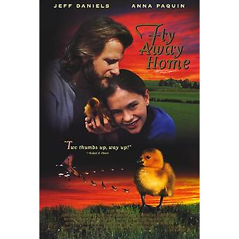 Fly Away Home Movie Poster (11 x 17)