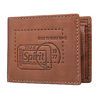 Camel active Detroit men's purse wallet purse Cognac 3429