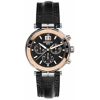 Michel Herbelin Mens Newport Rose Chronograph 36654/TR14 Watch