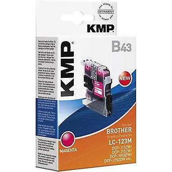 KMP Ink replaced Brother LC-123 Compatible Magenta B43 1525,0006