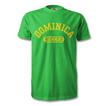 Dominica voetbal T-Shirt