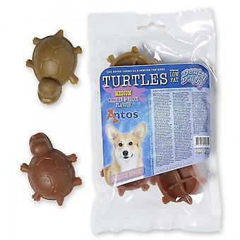 Antos Dental D'light skildpadder Medium (pakke med 10)