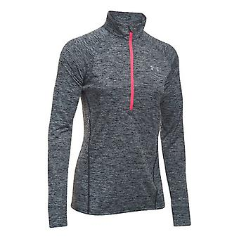 Under Armour tech long sleeve 1/2 zip ladies black 1270525-005