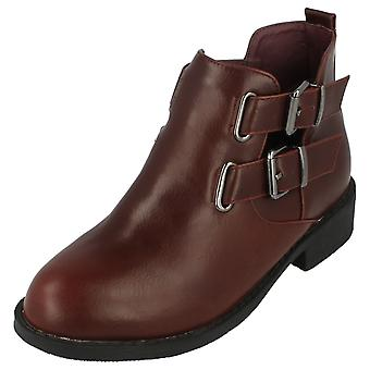 Girls Spot On Ankle Boots