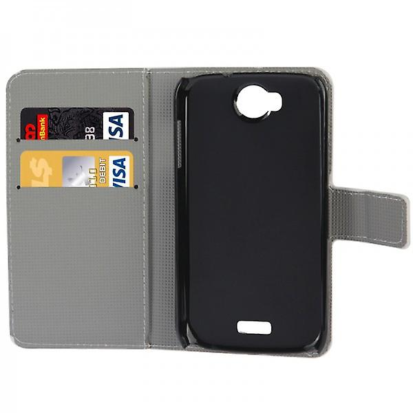 Pocket wallet premium model 73 for WIKO Moon