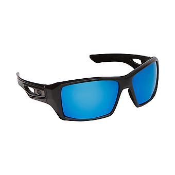 Best SEEK Polarized Replacement Lenses for Oakley EYEPATCH 2 Black Blue Mirror