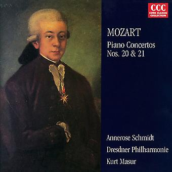 W.a. Mozart - Mozart: Piano Concertos 20 & 21 [CD] USA import