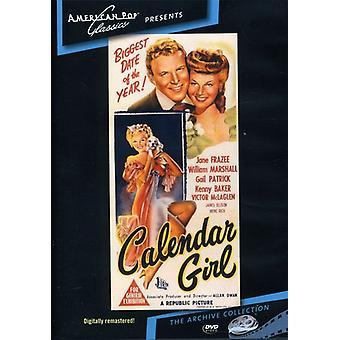 Kalender pige (1947) [DVD] USA importerer