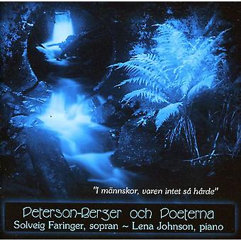 Peterson-Berger Wilhelm - Peterson-Berger Och Poeterna [CD] USA import