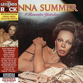 Donna Summer - jeg husker går [CD] USA import