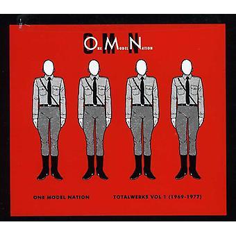 One Model Nation - One Model Nation: Vol. 1-Totalwerks 1969-1977 [CD] USA import