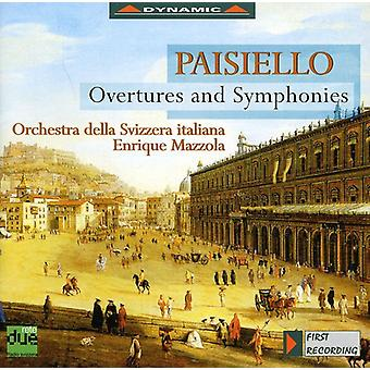 G. Paisiello - Giovanni Paisiello: Oberturas y sinfonías [CD] USA importar